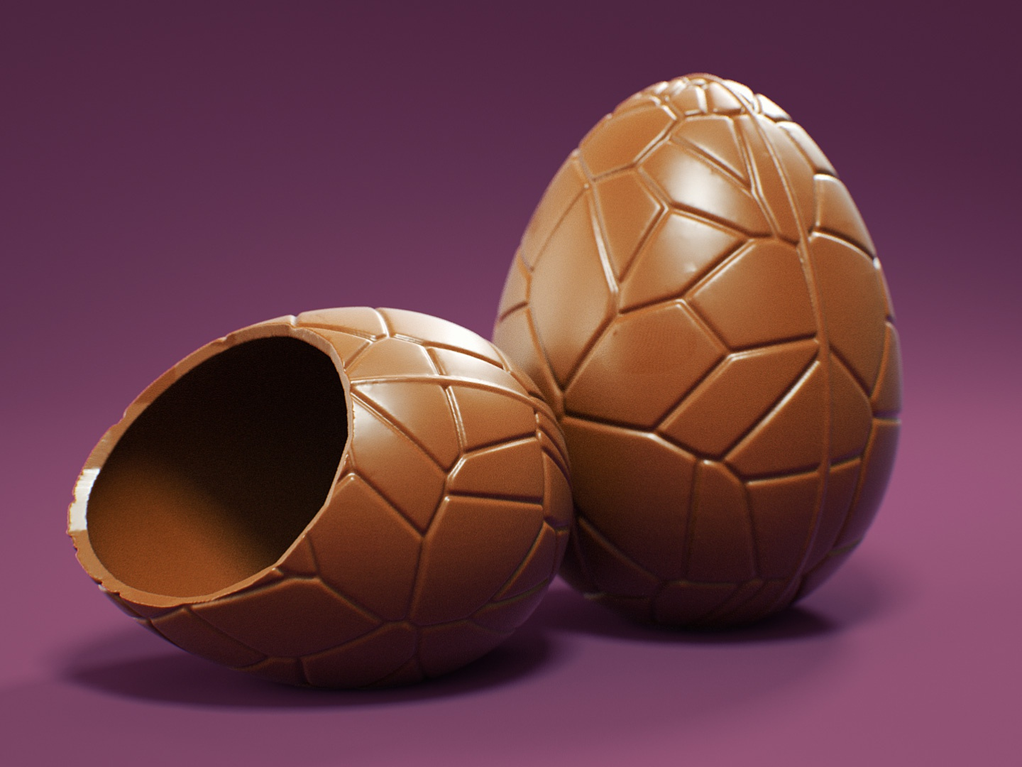C4D Easter Egg Modeling - Cinema 4D Tutorial (Free Project) by CG