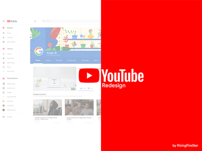 YouTube Material Redesign video material design 2.0 redesign material design youtube