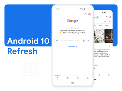Android 10 Refresh material design 2.0 material design concept google ux ui android refresh redesign design material