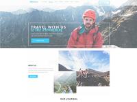 Travel Website Template !