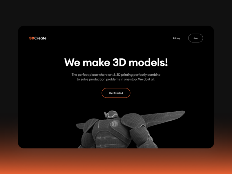 3D Create Dark Mode brand website design dark dark mode 3d illustration 3d model 3d logotype logo branding ecommerce dribbble mobile app trending interface illustration ui flat typography minimal