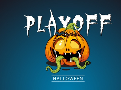 Halloween playoff - sticker mule
