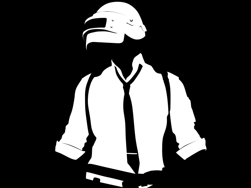 Pubg Minimalist Pophead Full Hd Wallpaper