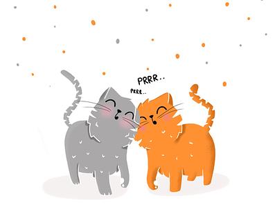 Prrrr design illustration cat happycatday