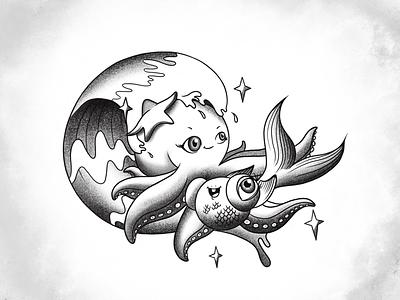Cute creatures <3 illustration art design