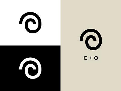 CO Monogram: Personal Branding design clean minimalism illustration co monogram monogram logo branding refresh branding