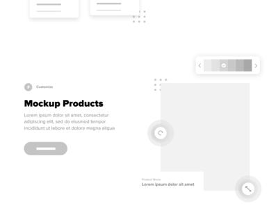 Mid-Fi Mockup - Landing Page
