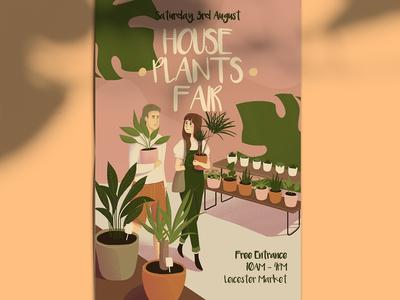 Houseplants Fair Poster
