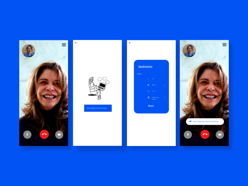 Productivity App - Project Sharing digital marketing typography dailyuichallenge ui dailyui graphic  design design