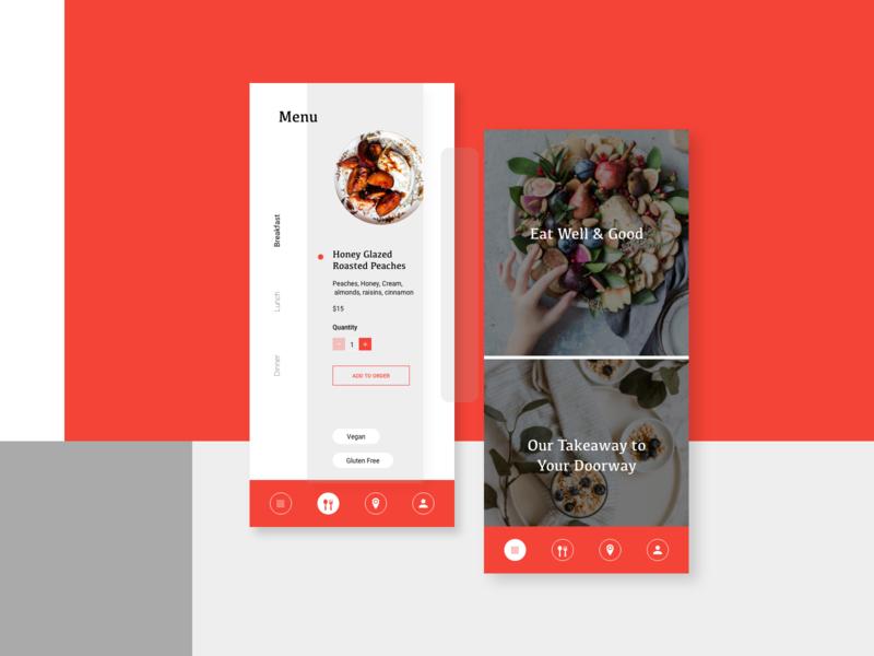 Daily UI Challenge - Navigation Design ux branding typography digital marketing dailyuichallenge ui dailyui graphic  design design