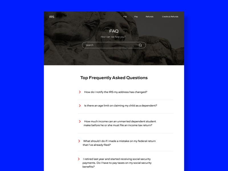 FAQ Page - UI Daily ux typography digital marketing dailyuichallenge ui dailyui graphic  design design