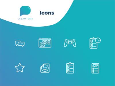 DreamTeam icons