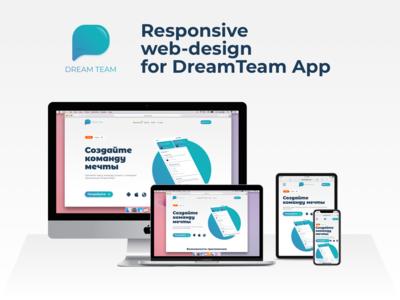 DreamTeam App website
