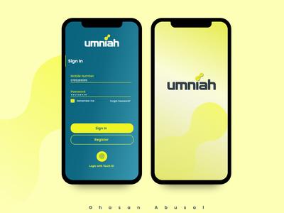 Mobile Operator - app design