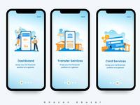 Tutorial Screens - Banking