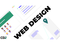 Web Design Angled Cover