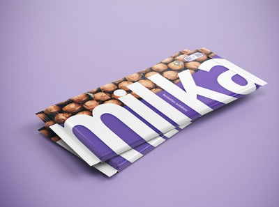 Dribbble challenge chocolate wrapper