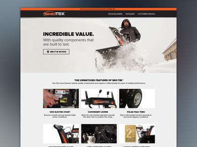 New Sno-Tek Site