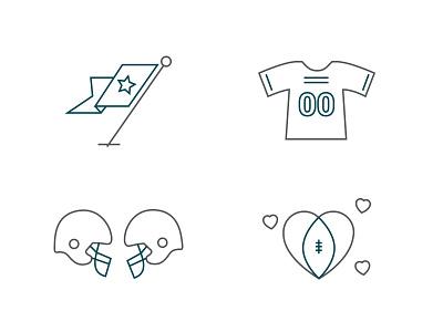Virtual Linc Icons football icons