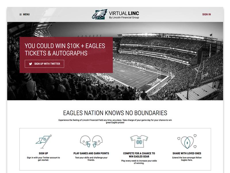 Virtual Linc Homepage by Josh Braun - Dribbble