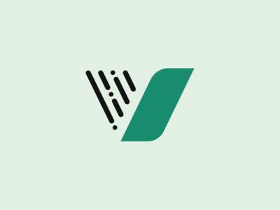 V Logo Concept