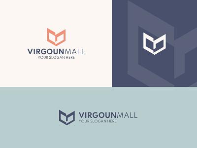 VM Logo Design layout creative graphic design design brand modern logo minimalist clean logo v v logo m m logo branding logo