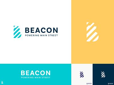 Beacon Logo Concept letter b unique logo solid logo line logo logotype logo design company logo b b logo simple brand branding logo