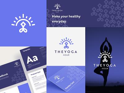 Yoga Logo Concept showcase presentation ui design layout hour logo pattern healthy logo sport logo logo yoga yoga logo minimalist logo geometric logo brand graphic design branding simple logo modern logo clean logo logo design logo