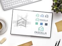 F + Home logo design