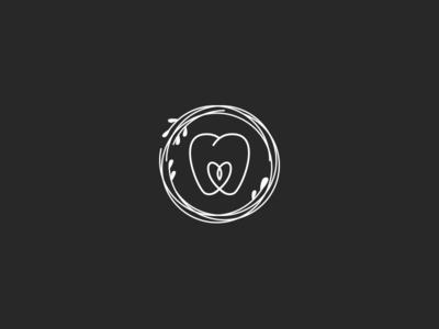 Nest + Dental logo concept