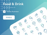 Food and Drink Icon Design