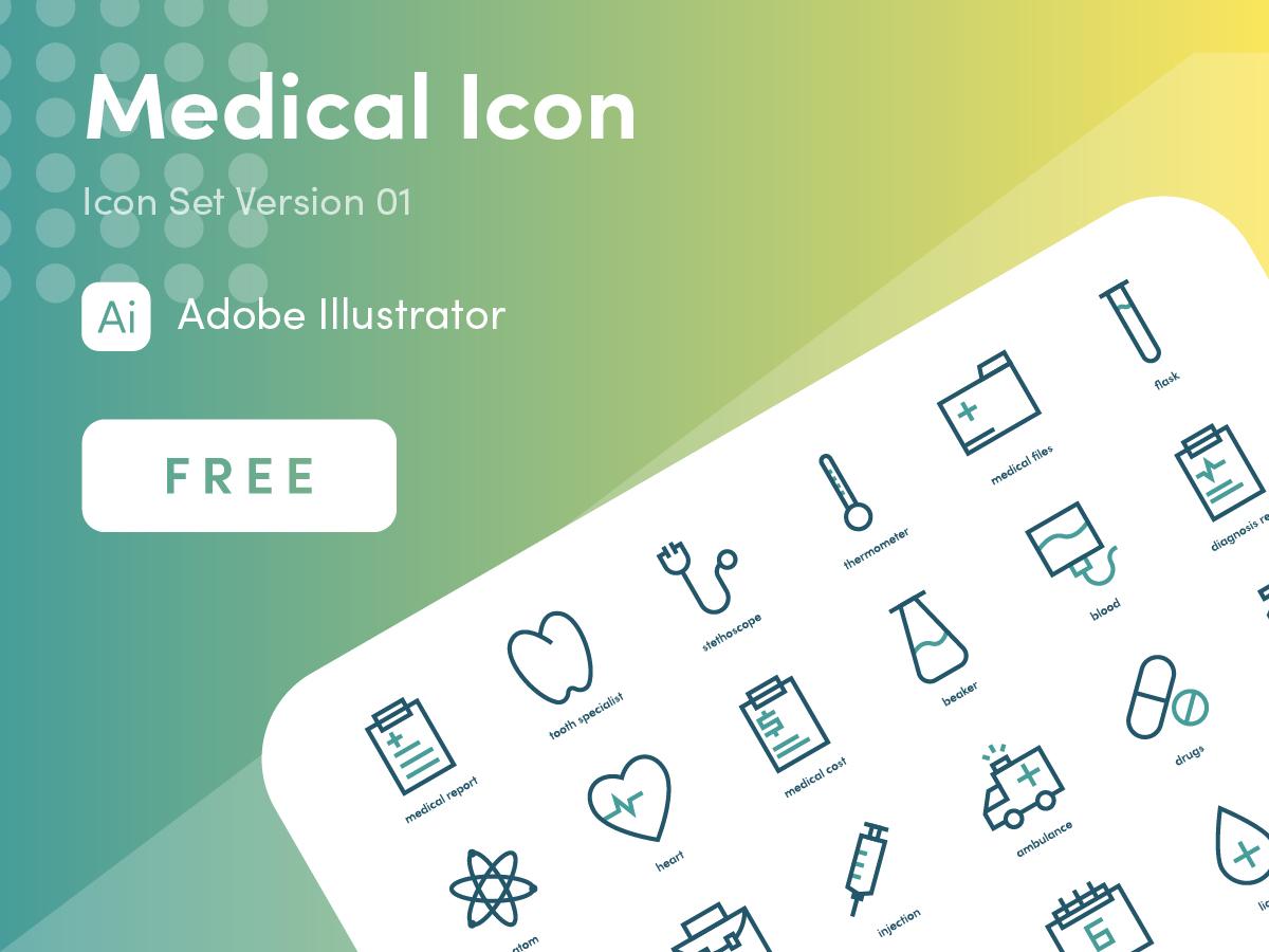 Medical Icon Free minimalist simple clean modern medicine medical medical icon iconography icon design icon