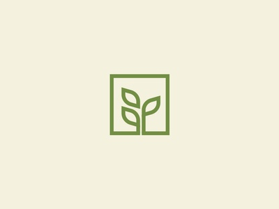 Plant in Box Logo Design