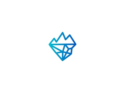 Deep and Mountain Logo