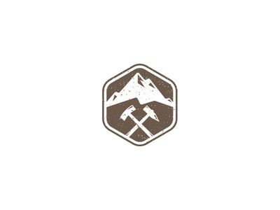 Mountain and Hammer Logo