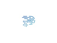 P + Fingerprint Logo