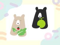 Vegan bear