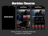 Harkins Theatres - App Redesign