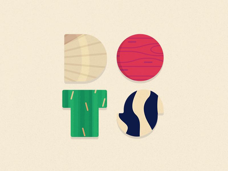 Dots - Pattern logo logo dots twodots