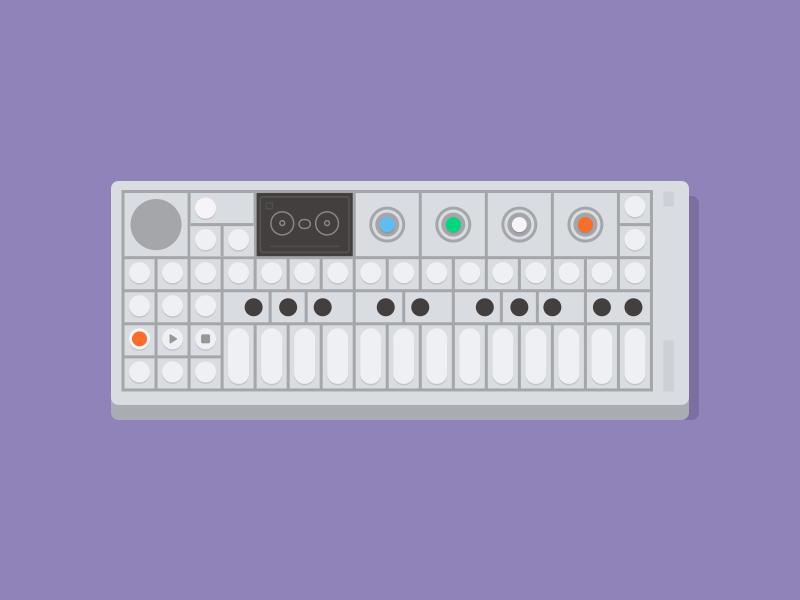 OP-1 music teenage engineering op-1