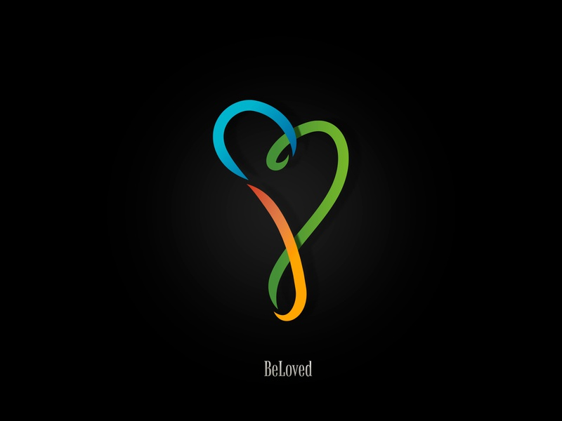 BeLoved peace for fun branding logo