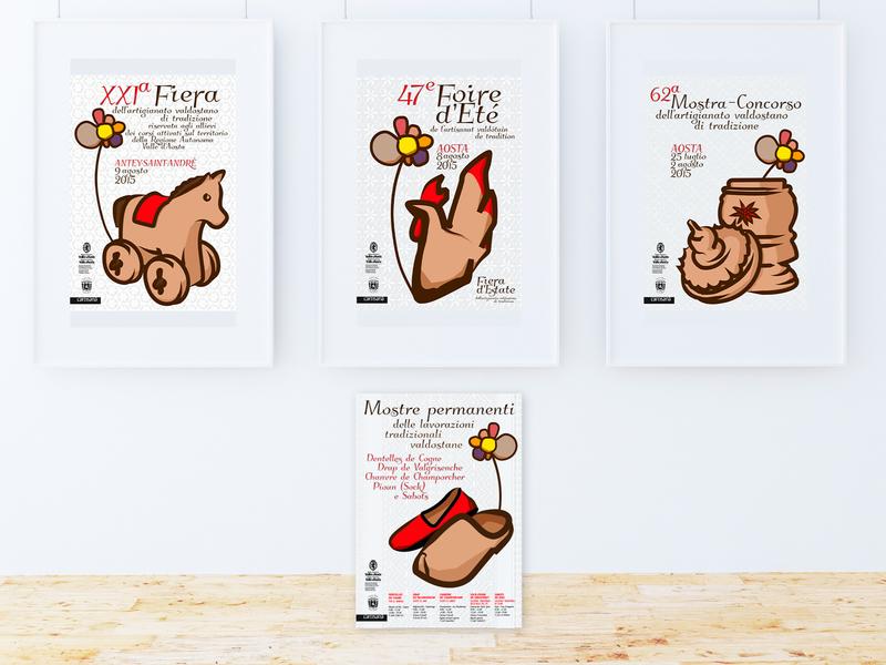 Foire 2015 illustration advertising winner contest poster design