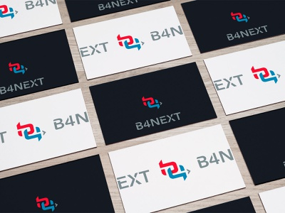 b4next winning design choosed logo challenge logo
