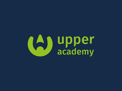 Upper Academy contest winner choosed logo challenge logo