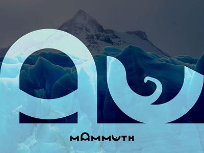 Mammuth minimal branding design logo