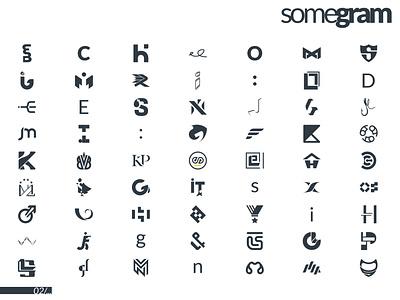 GRAMPoster poster ideogram minimalism monogram pictogram logogram logo