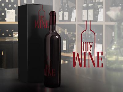My Wine logo day26 thirtylogos