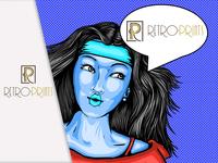Logocore day 10 Retro Prints