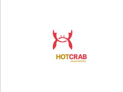 Hot crab sandwiches original seafood 4fun logo design logo