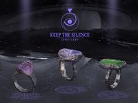 Keep The Silence Jewellery Brand Video Cover & Logo